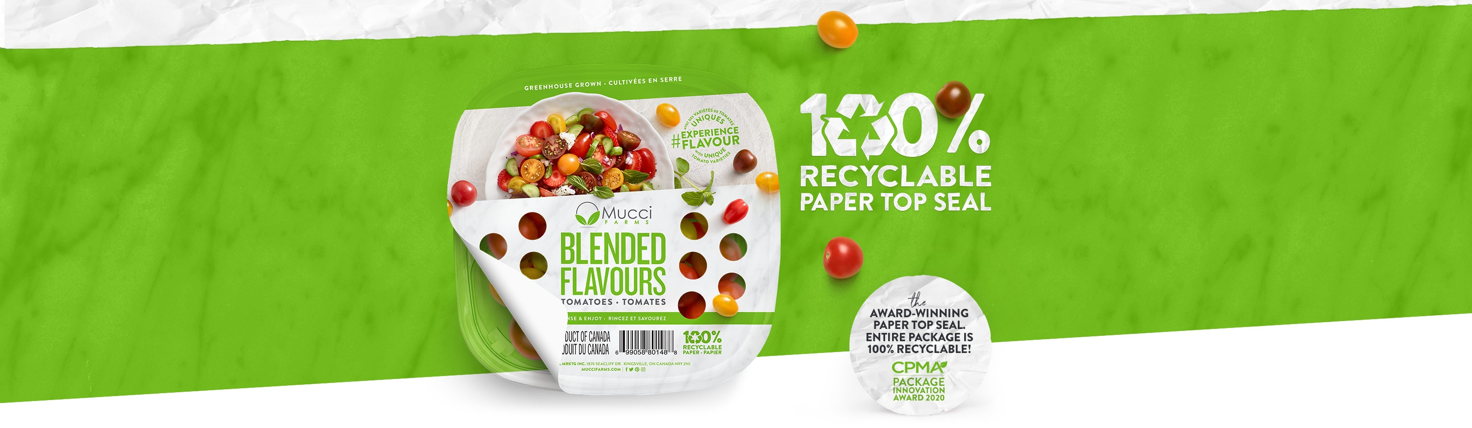 Paper Top Seal Package 100 Percent Recyclable new