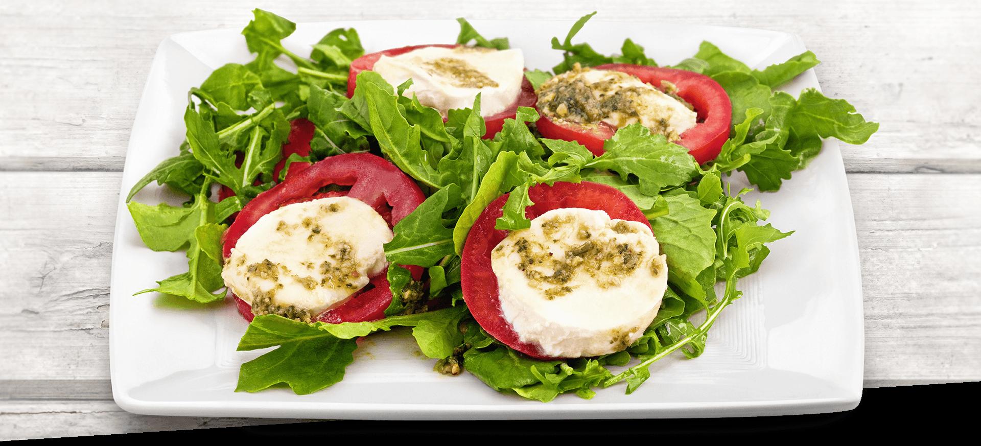 Pink Gourmet Pesto Salad header BG