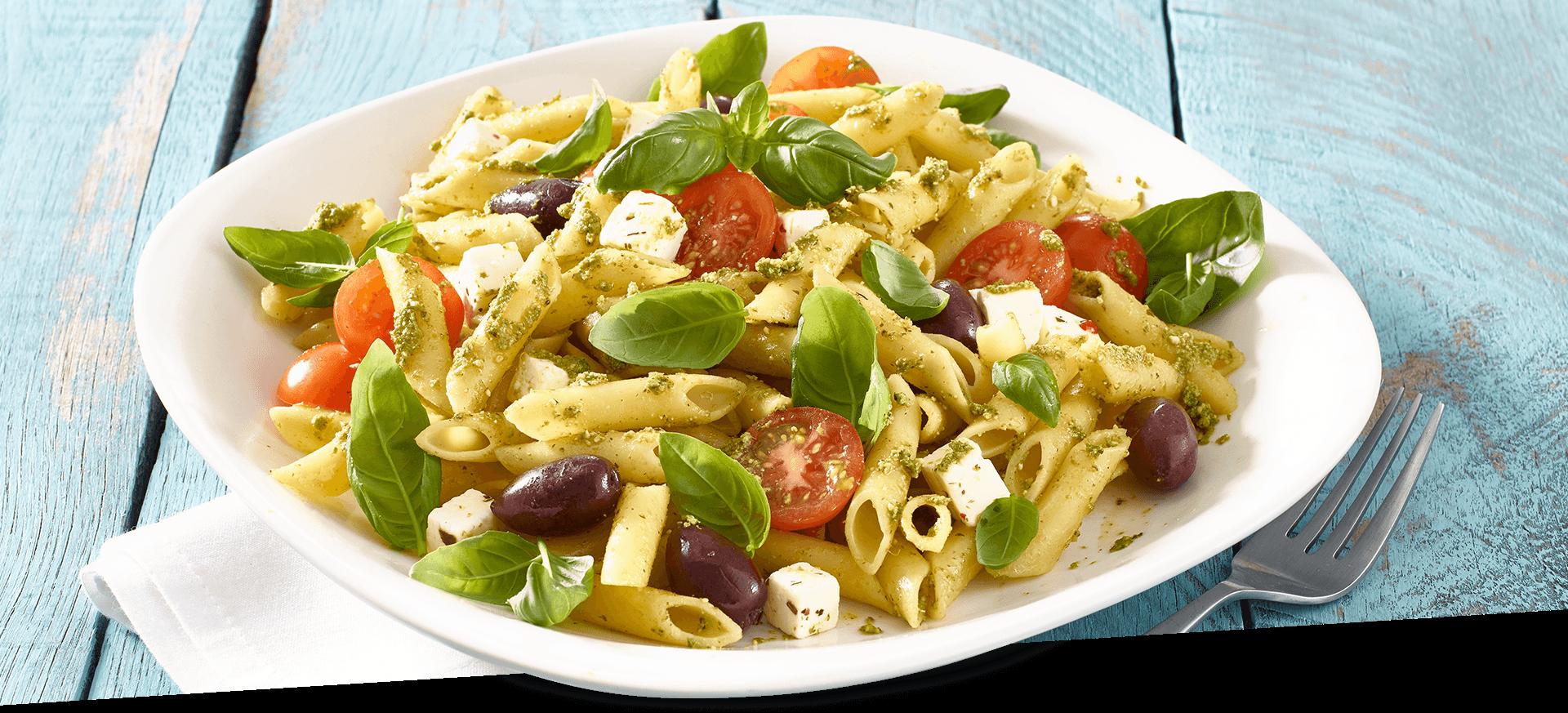 Basil Pasta Salad header BG