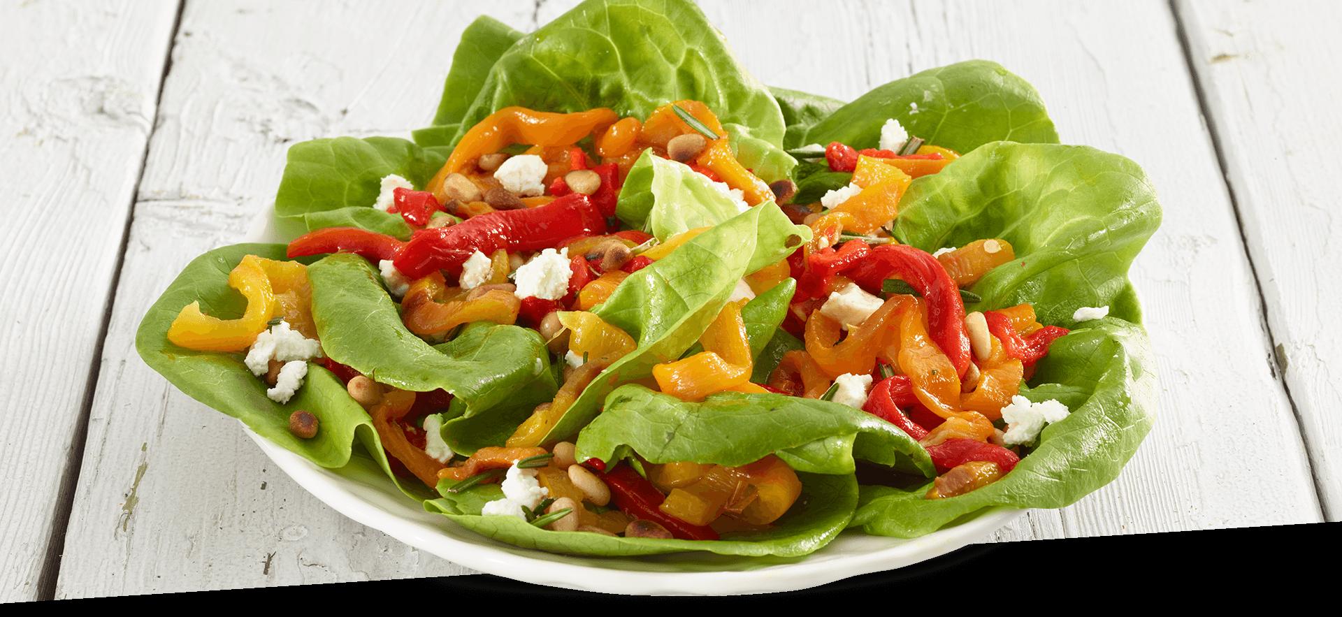 sweet long pepper salad header