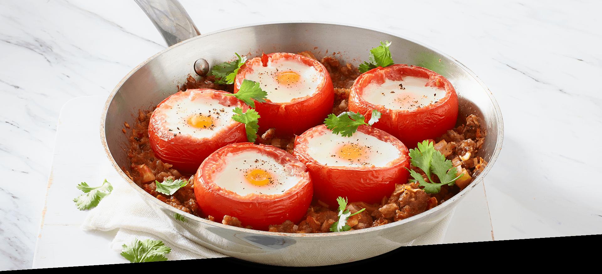 Huevos Tomatoes header BG