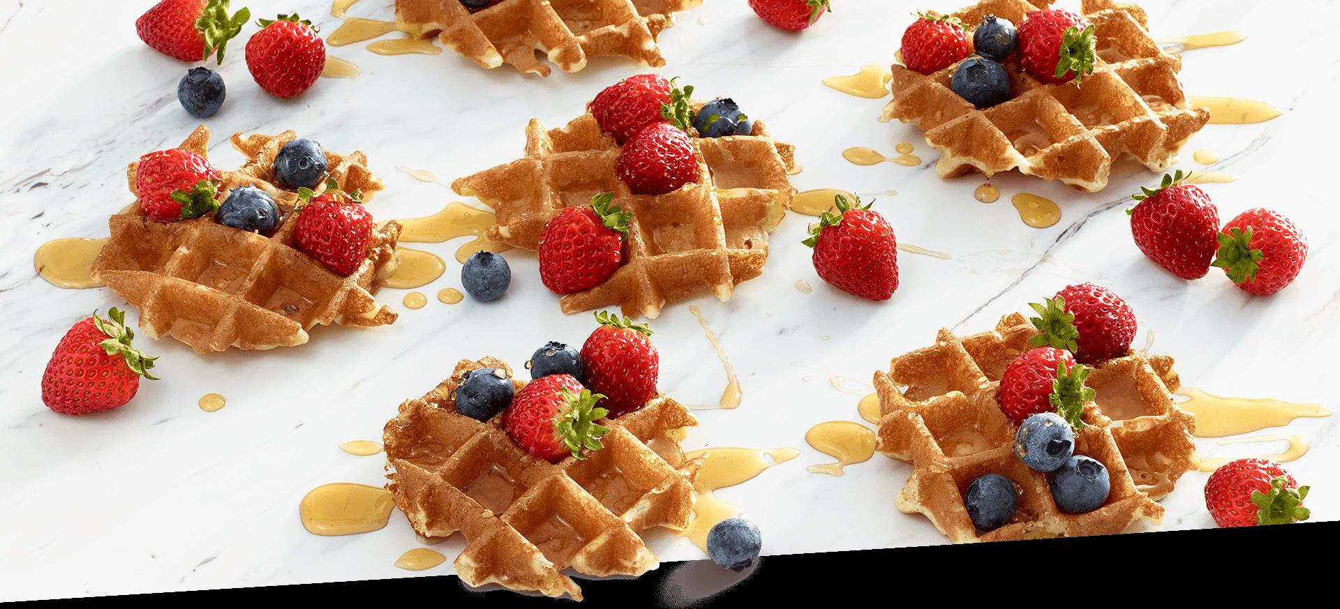teeny tiny smuccies belgian waffles header img
