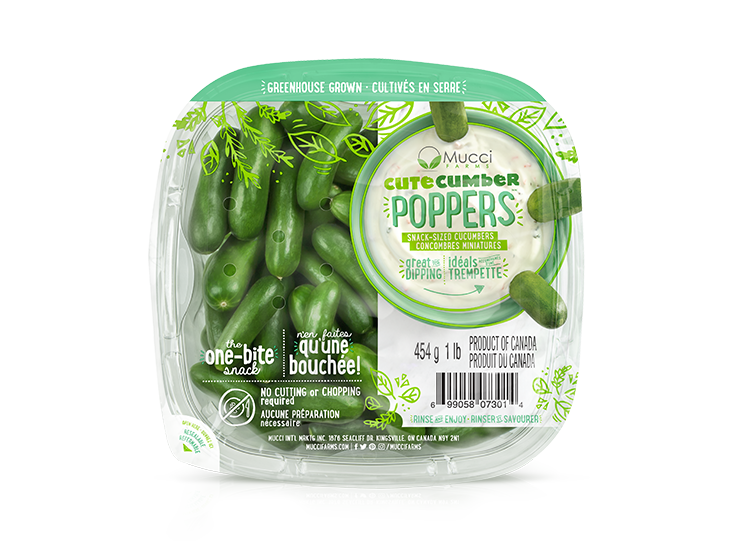 cutecumber poppers 1lb