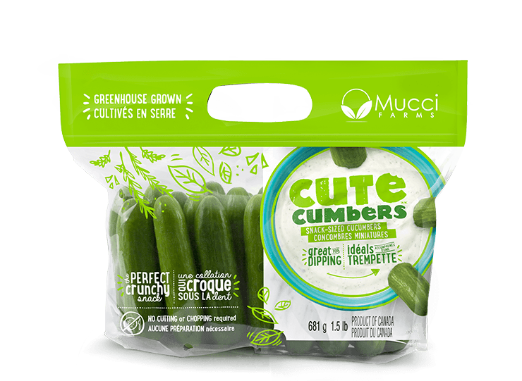 cutecumbers 1.5lb bag