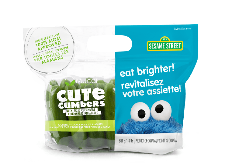 cutecumbers 1.5lb bag eat brighter new