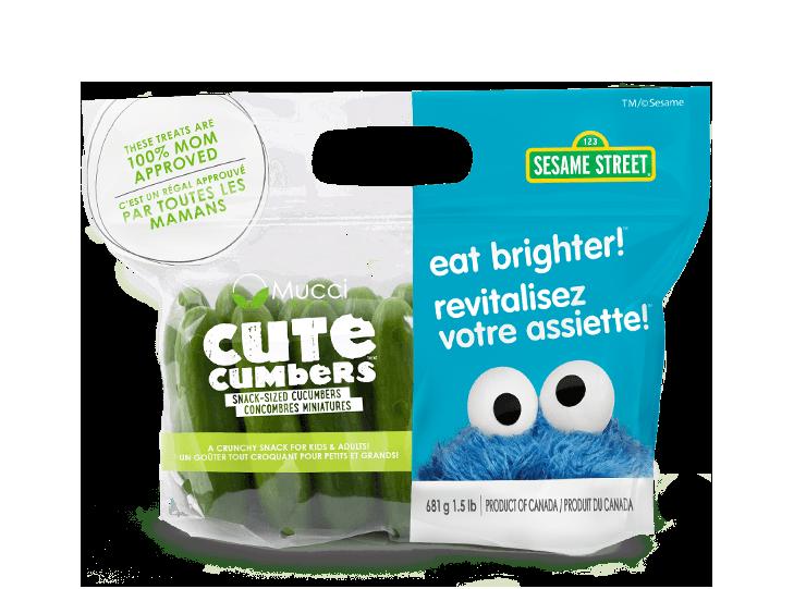 cutecumbers 1.5lb bag eat brighter new