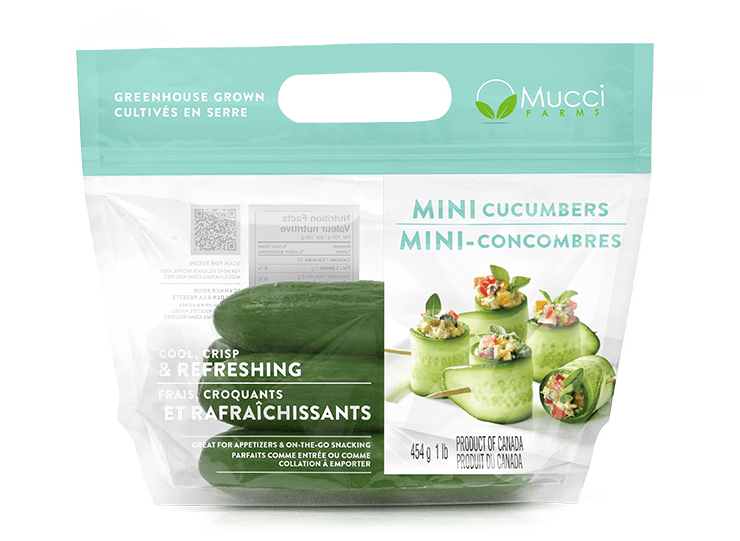 mini cucumbers 1lb bag new