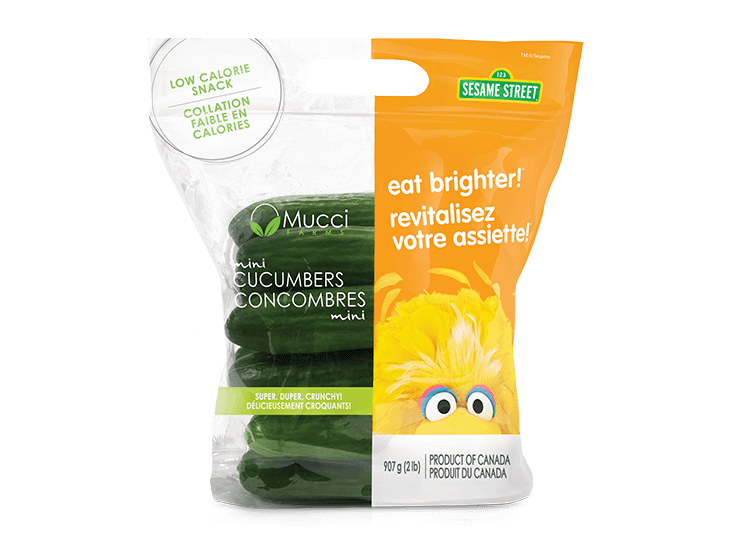 mini cucumbers 2lb bag eat brigher