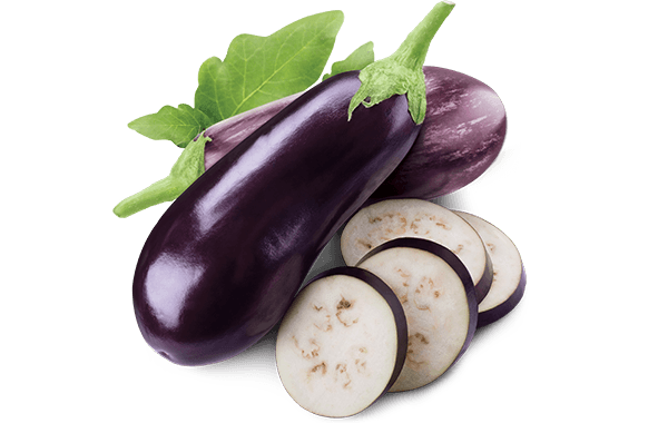 eggplant loose product shot