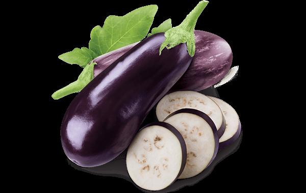 eggplant loose product shot