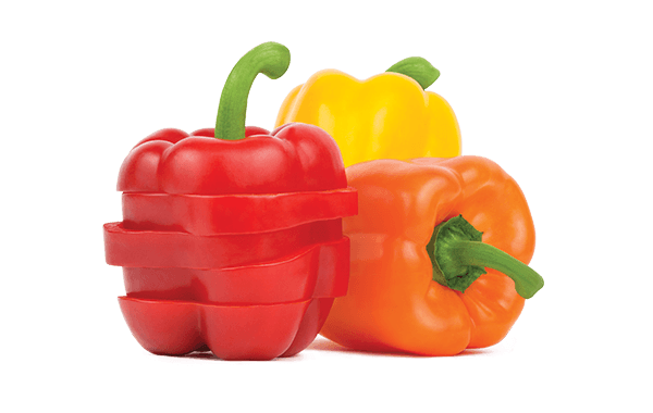 Sweet Bell Peppers loose product shot