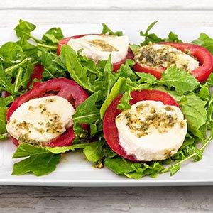 pink gourmet pesto salad index image
