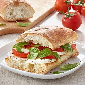 tomato basil sandwich index image