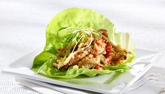 shitake lettuce bowls display image