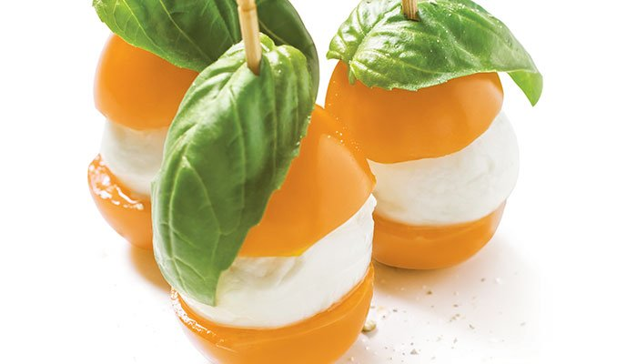caprese bites display image